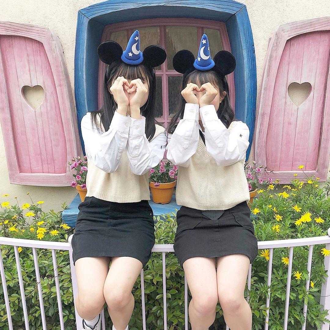 【番外編】ディズニーでも韓国制服を着よう