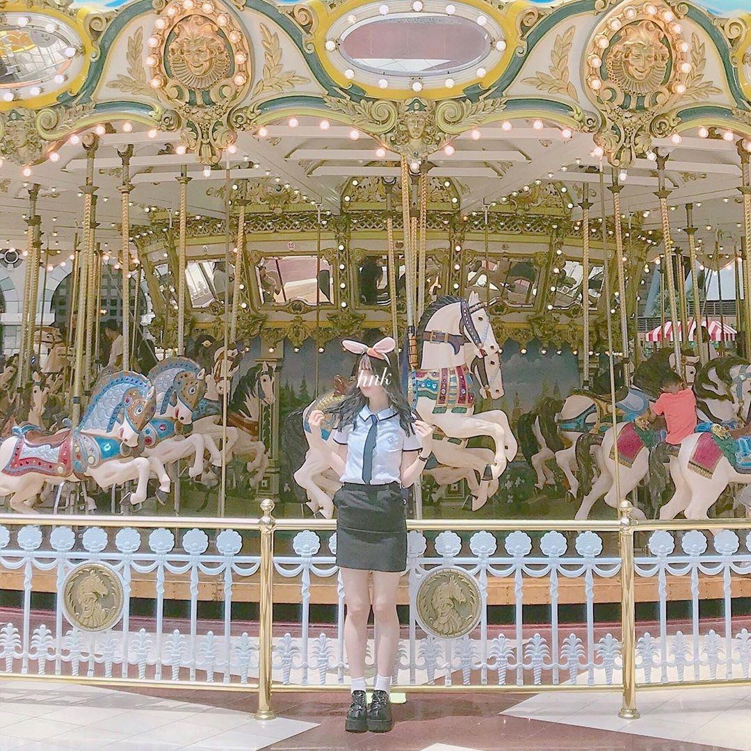 ♡キラキラ可愛いメリーゴーランド