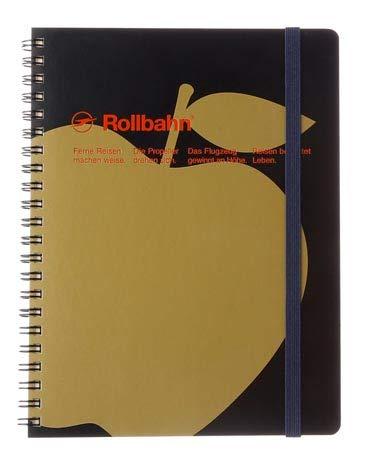 デルフォニックス ロルバーン ポケット付メモA5 アップル