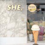 アイス屋さんがある宿泊所♡HOTEL SHE,がお洒落すぎるって噂<京都・大阪>
