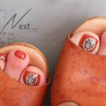 フットネイルは親指のアートにこだわりたい。足元の存在感がUPするデザインをfind