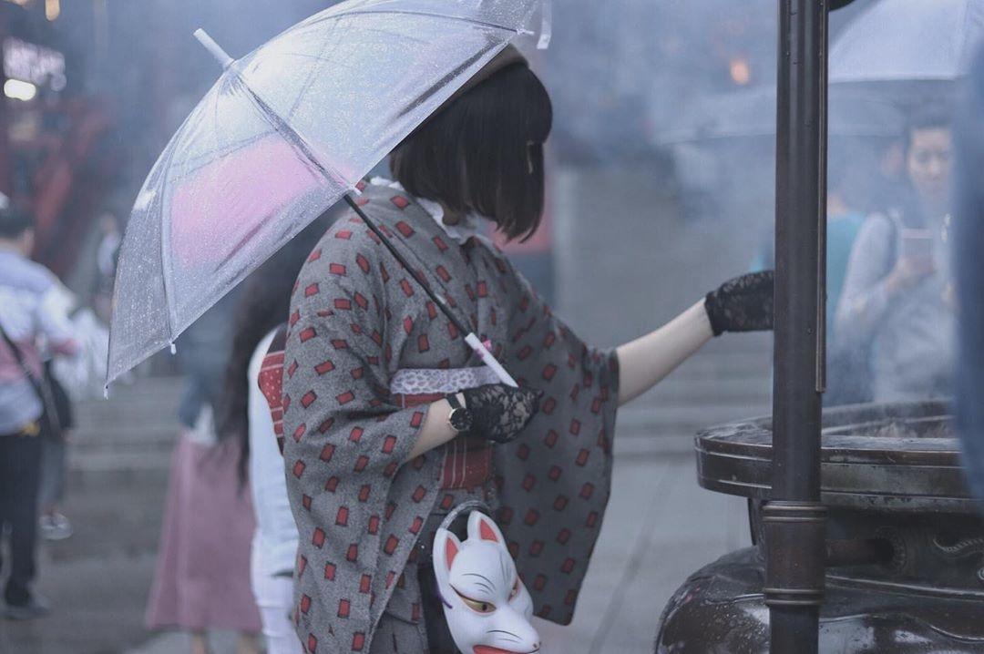 着物とカフェって最強。レトロな可愛い着物を着て浅草でカフェ巡りをしよう
