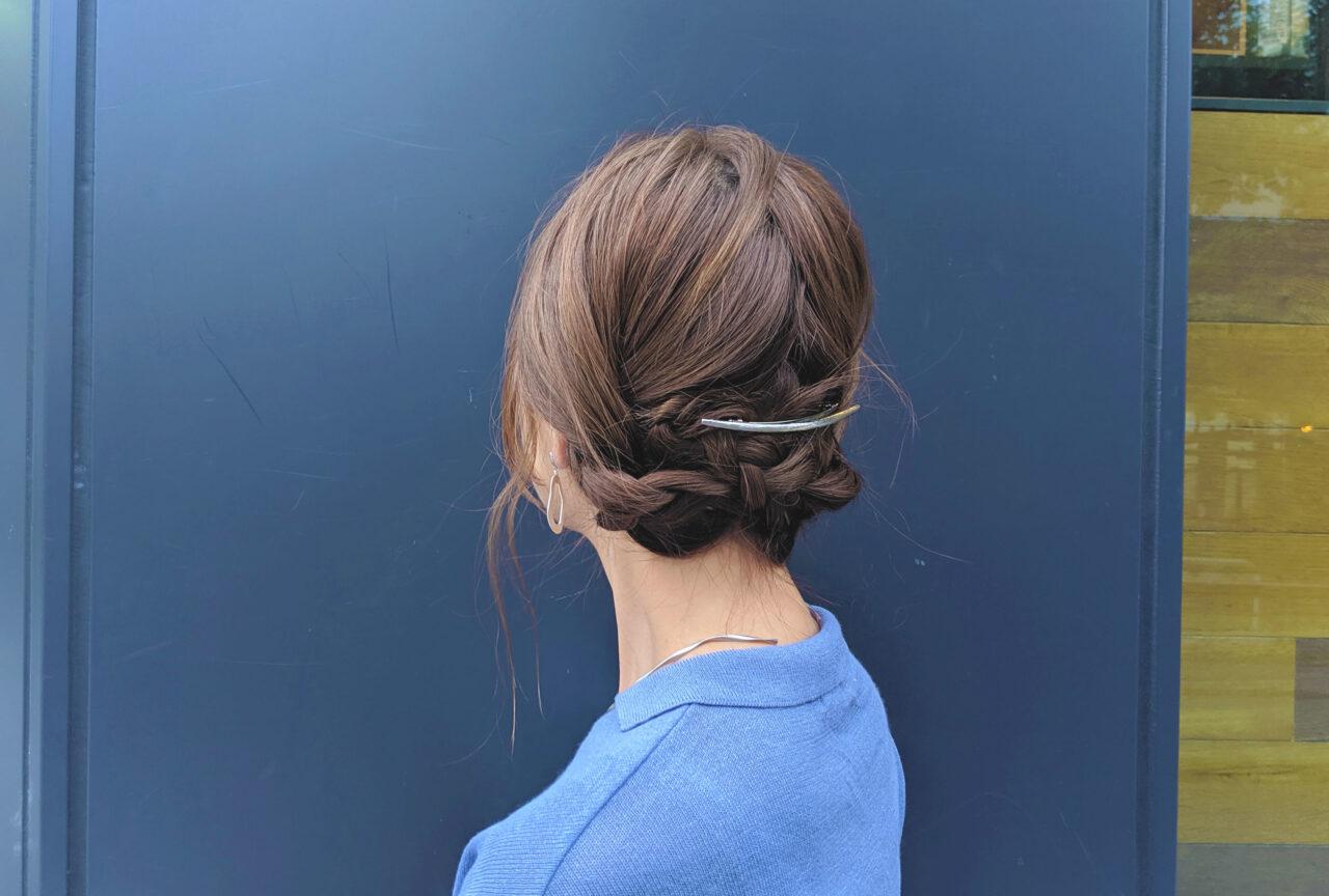 【急募】簡単で凝って見えるまとめ髪。キレイにKEEPする三つ編みシニヨンを習得♡