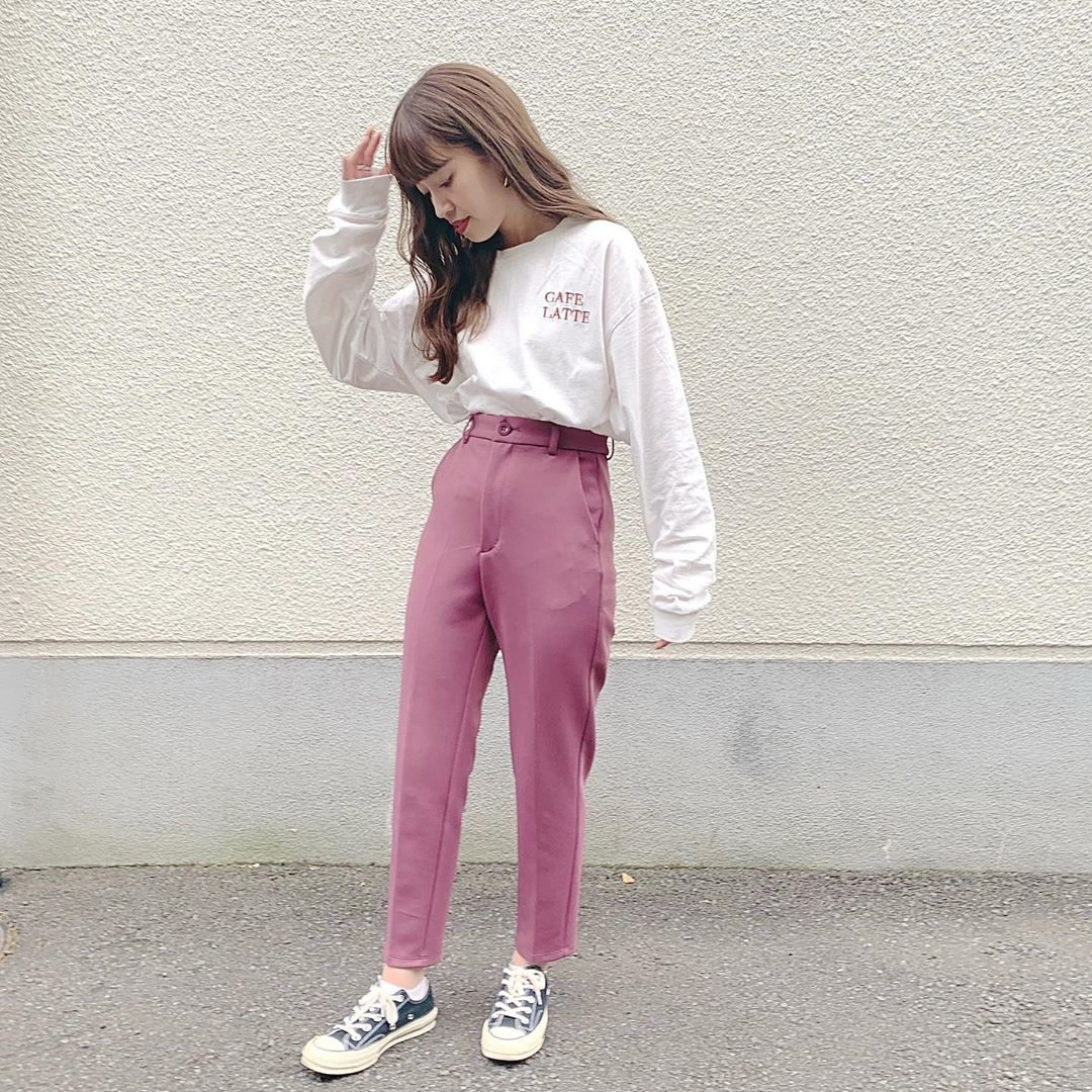 くすみカラーもシルエットも可愛すぎるんです。GUの新作パンツが超絶優秀っていうウワサ