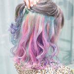 ゆめかわいいに染まりたい♡ユニコーンカラーの乙女でメルヘンな髪色でときめいて