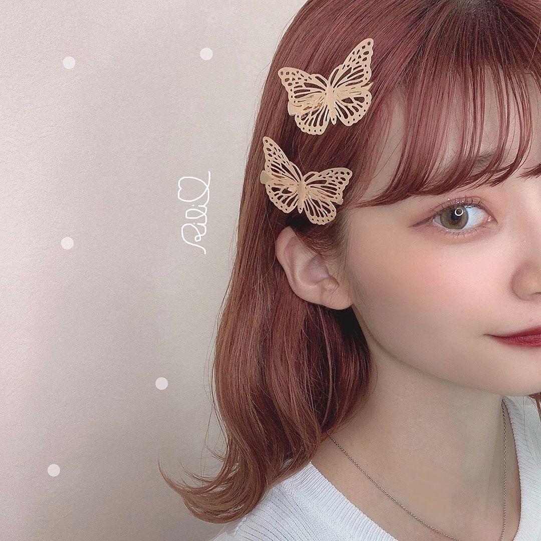 溢れ出るフェアリー感♡トレンドの「蝶々アクセサリー」で夢うつつな儚げガールに