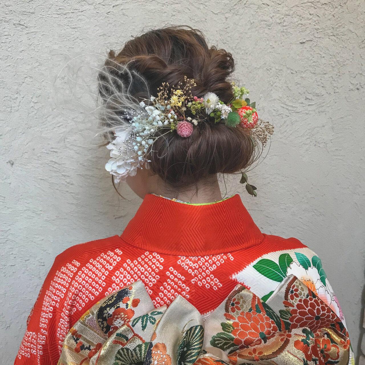 成人式の髪型は清楚一択!そんなあなたに贈る、振袖にぴったりのヘアアレンジ集