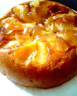 炊飯器&ホットケーキミックス♪簡単りんごケーキ♪
