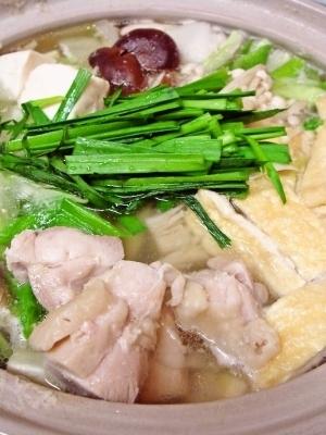 お家で簡単★塩ちゃんこ鍋★美味い!