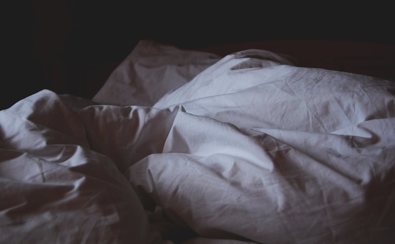昨晩、一睡もできませんでした…
