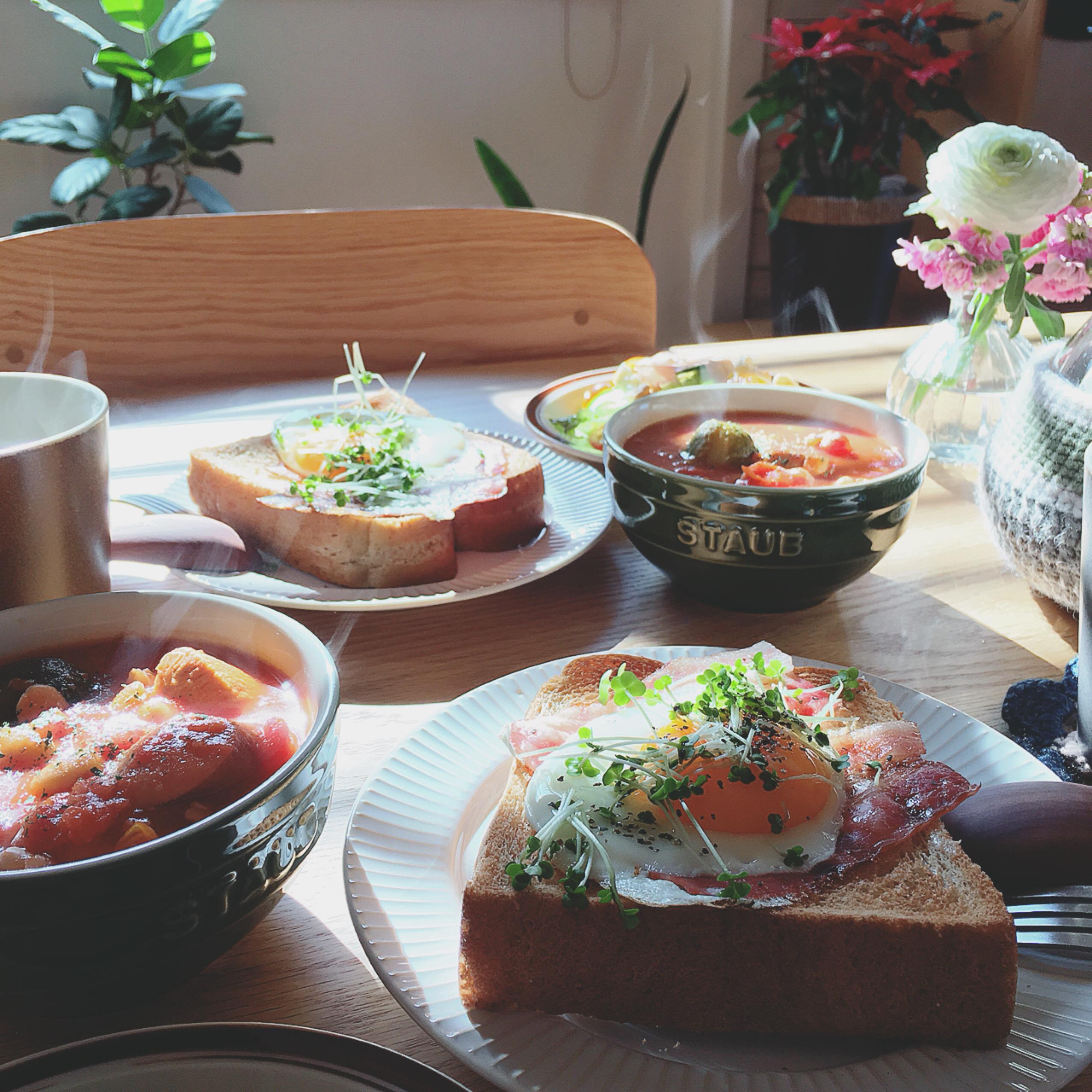 せめて朝ごはんは食べよう