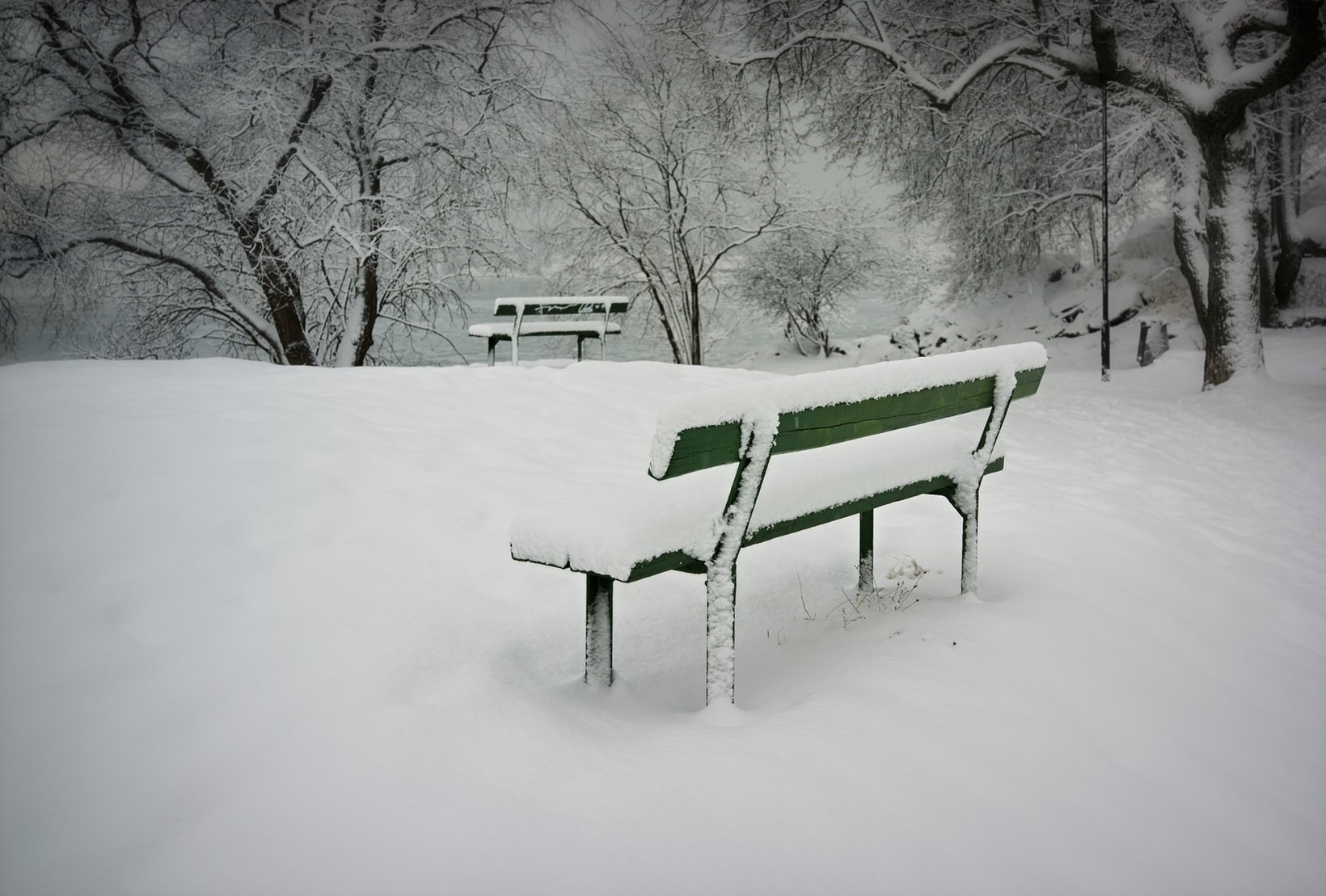 冬の情景からネイルを選んでみて
