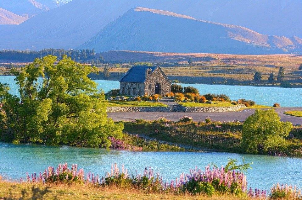 豊かな自然で知られる、ニュージーランド