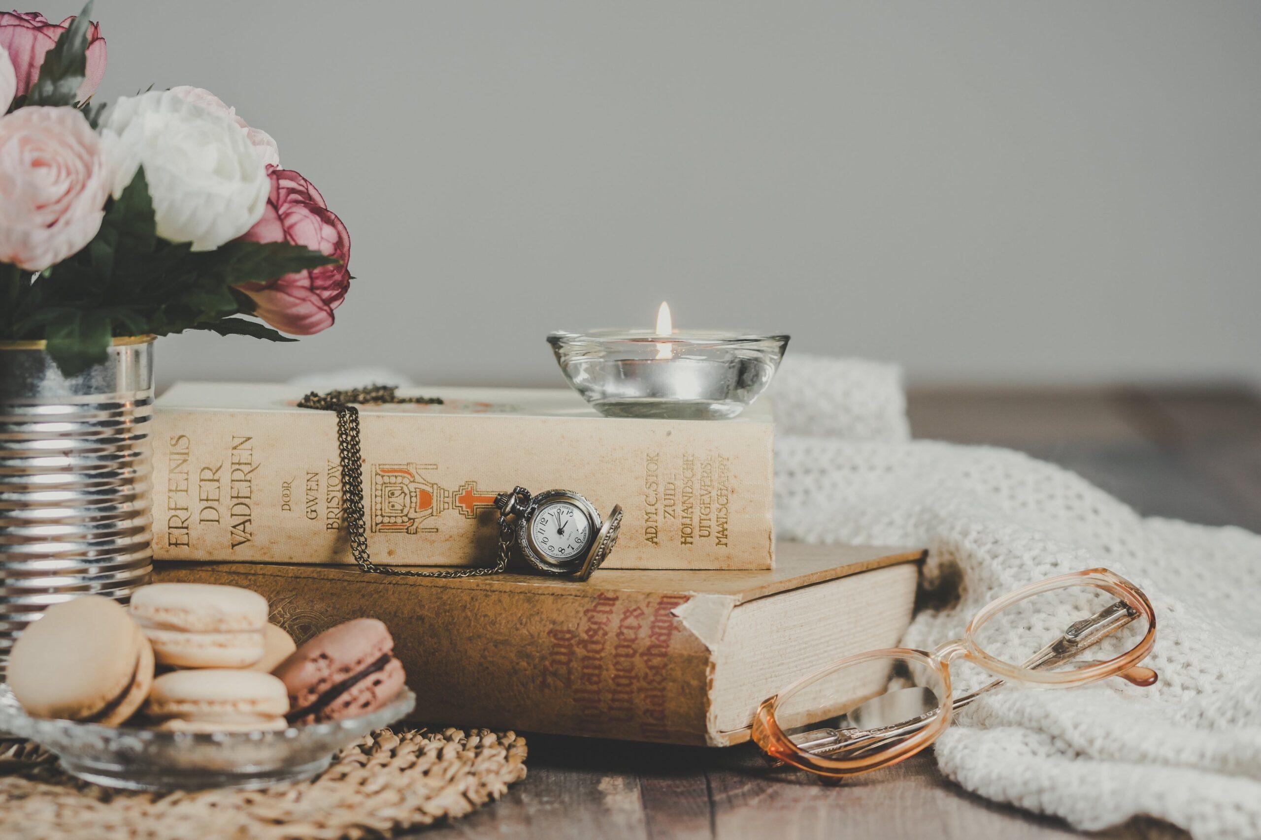 本と香水と私、愛する本のため