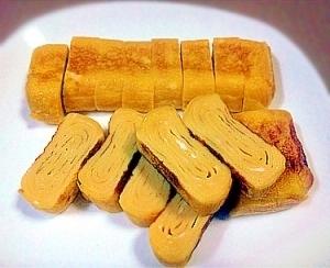 お弁当に★冷凍保存用の玉子焼き