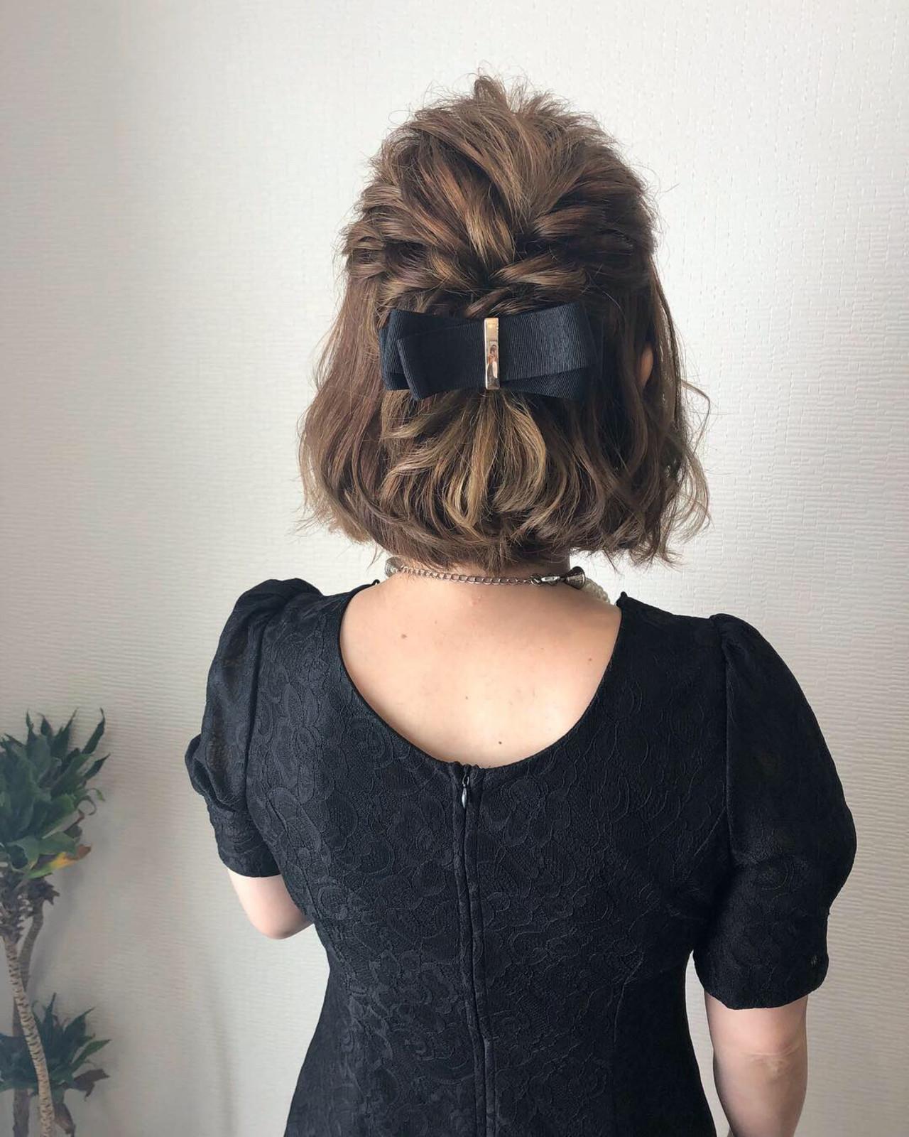 |頼れる大人っぽヘアアクセをプラス