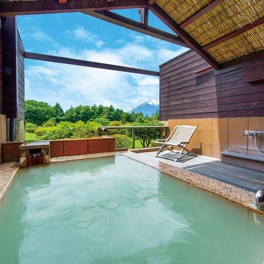 『ホテルグリーンプラザ箱根』で富士山鑑賞