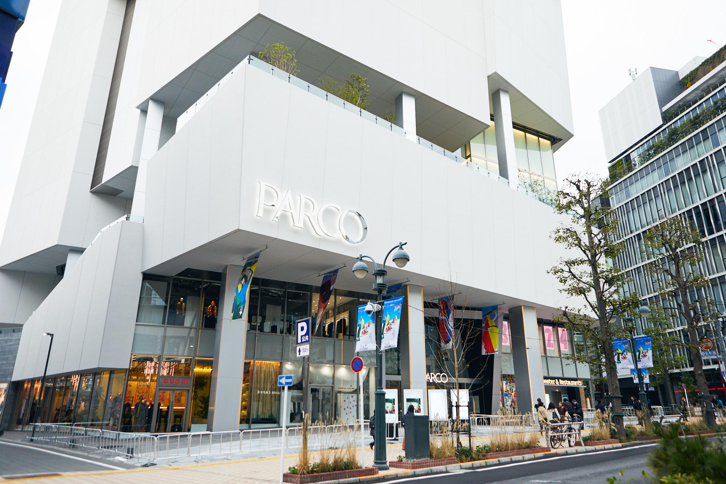 2つの古着屋さんが渋谷PARCOに