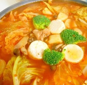ミネストローネ風 トマト鍋
