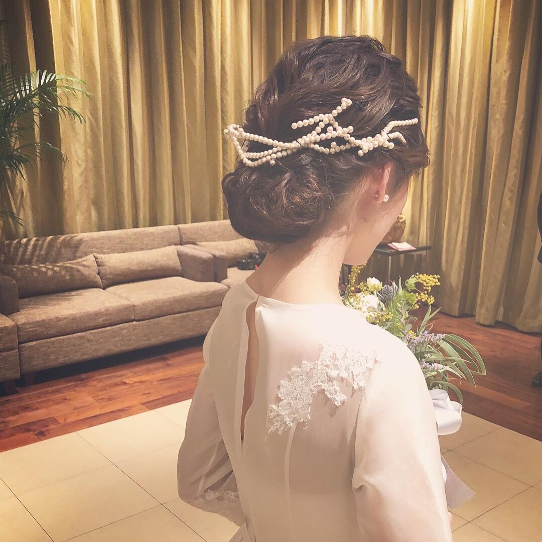 アクセサリー×ドレス