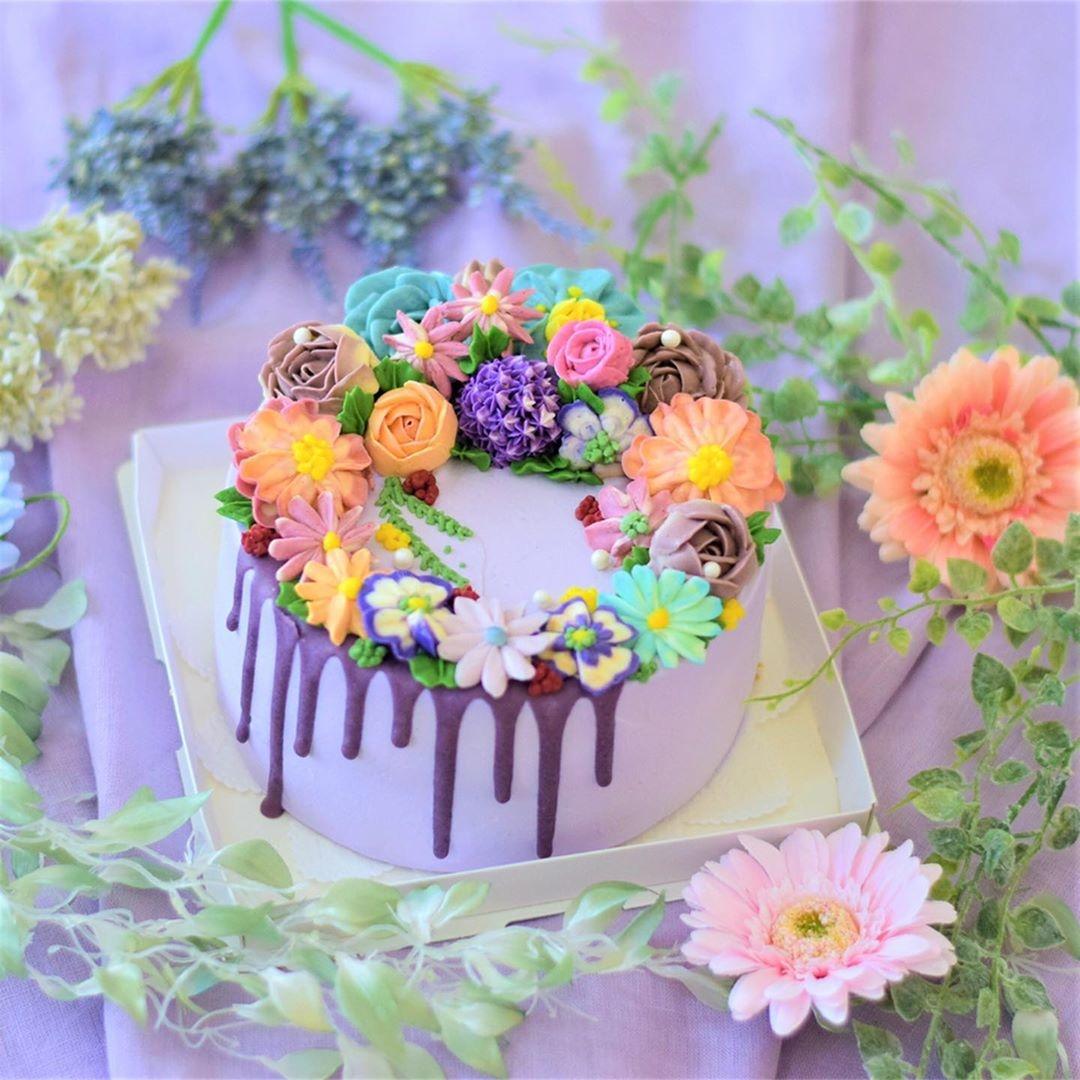 【番外編】花ケーキでお祝いを