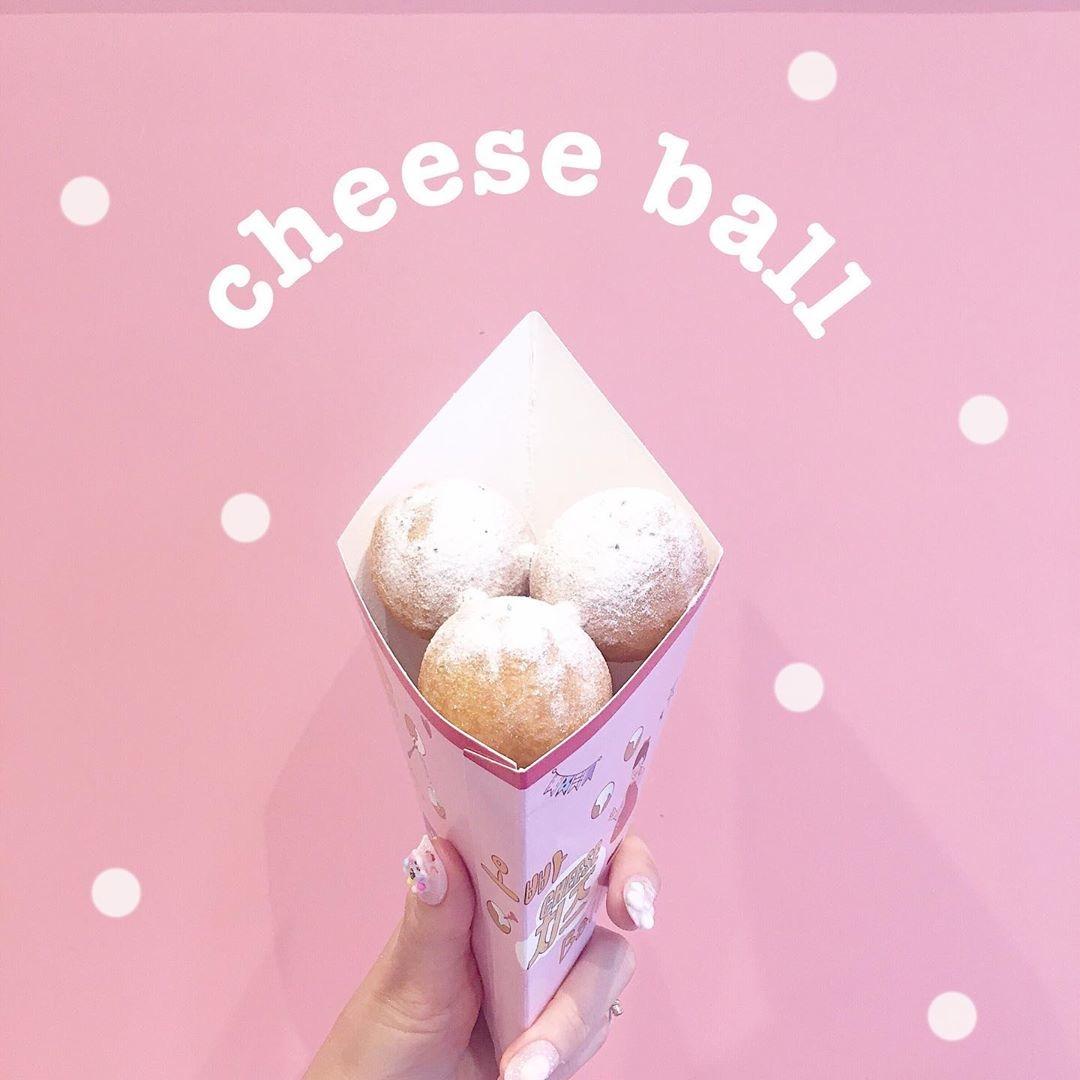 まるくて可愛いチーズボール♡