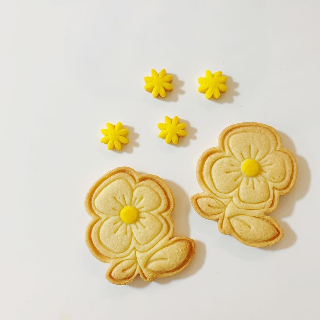 簡単にクッキーに模様が描ける?
