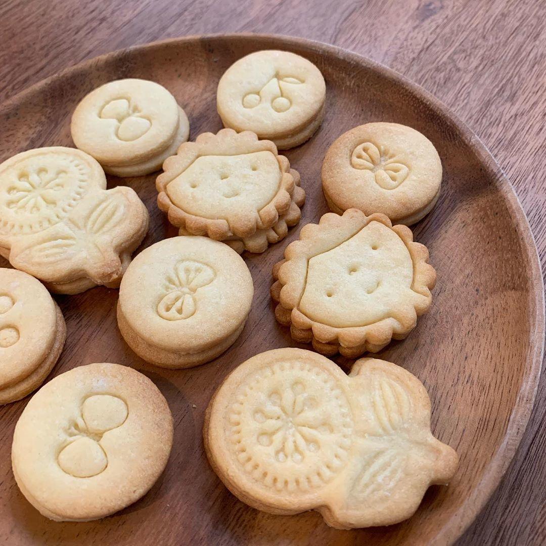 キュートなスタンプクッキー型たち