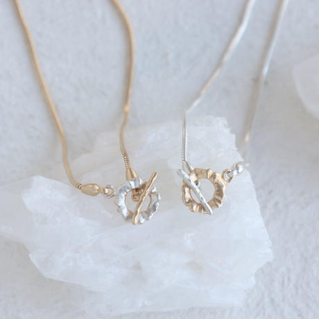 Frill Mantel Necklace(Silver/Gold)
