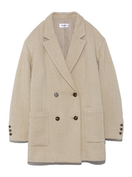 キルティングオーバーサイズジャケット
