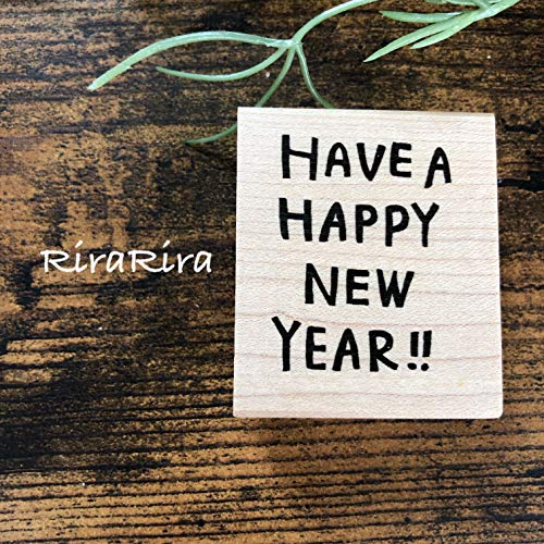 HAVE A HAPPY NEW YEAR☆ラバースタンプ