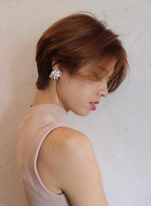 かきあげヘアの君の横顔にドキッとした。色っぽい女性になるためのヘアcatalog