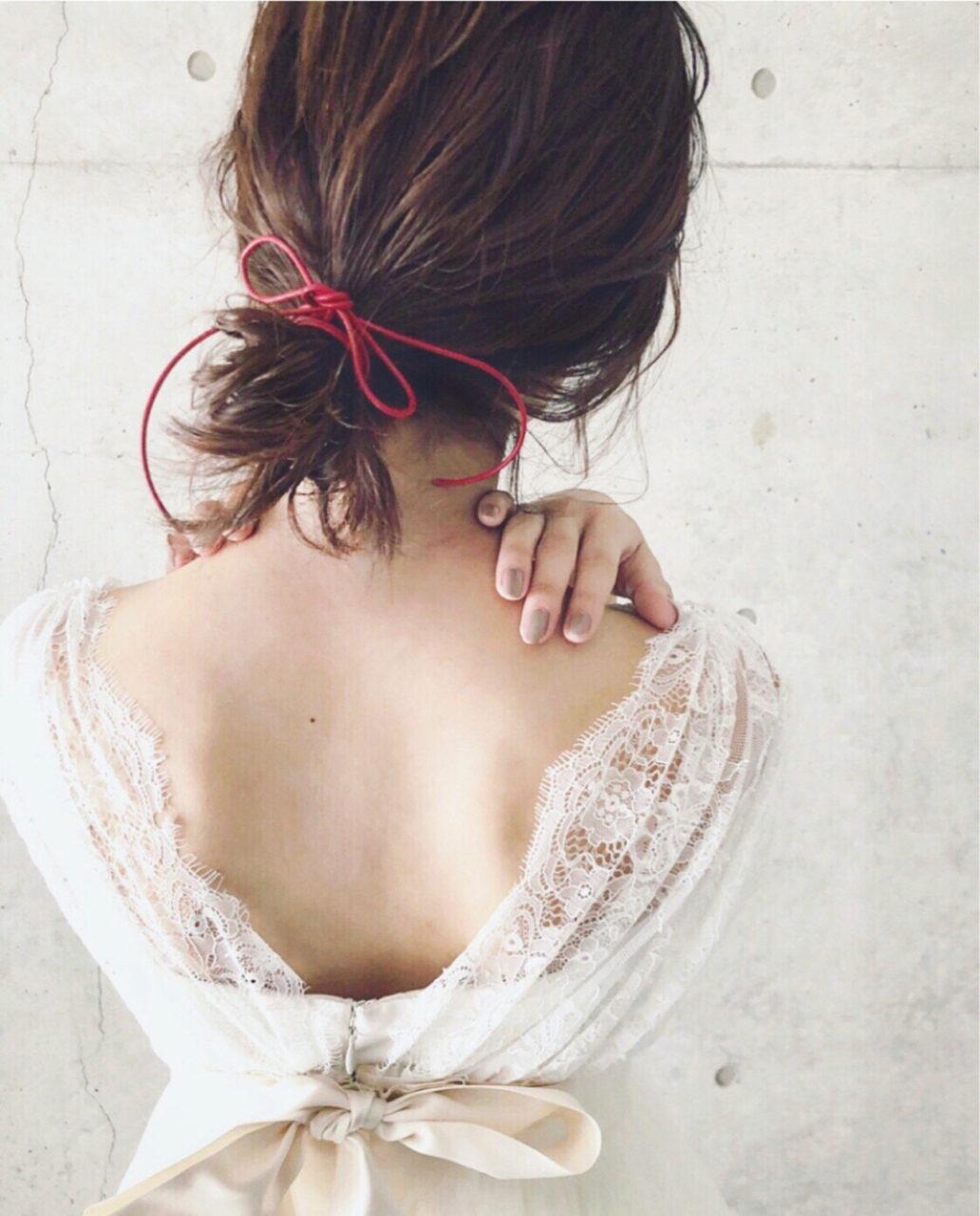 結婚式にはボブならではのセルフアレンジを。簡単なのに周りと差がつくお呼ばれヘア