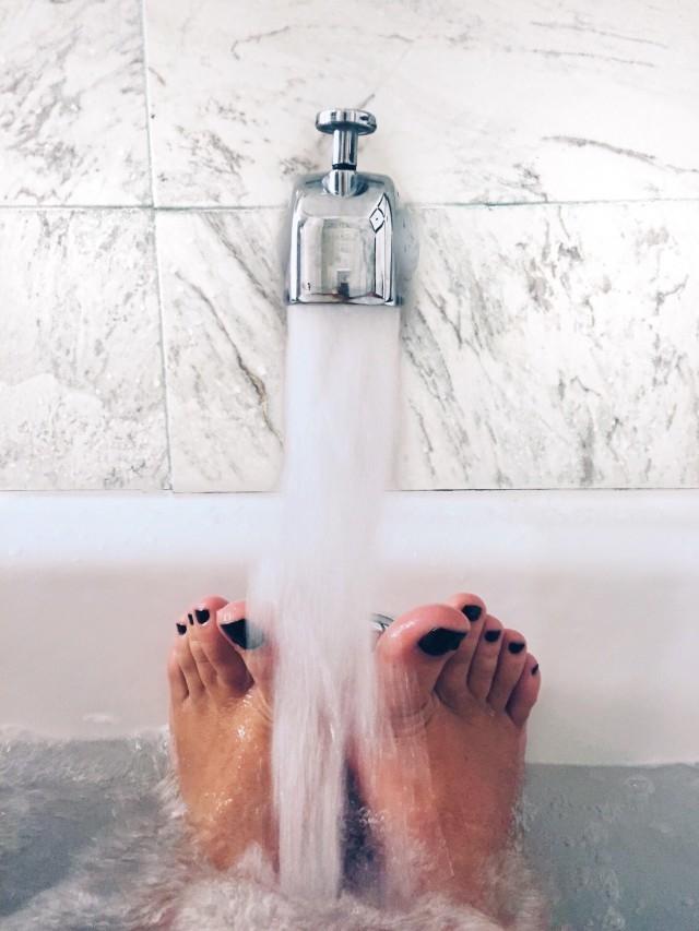 03:熱いお湯に浸かる