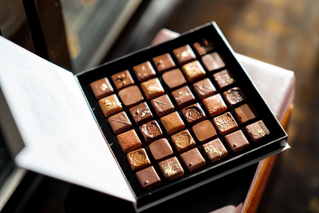 ご褒美は、チョコレートショップのお菓子♡