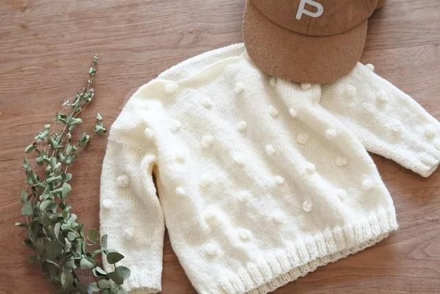 ハンドメイドセーター