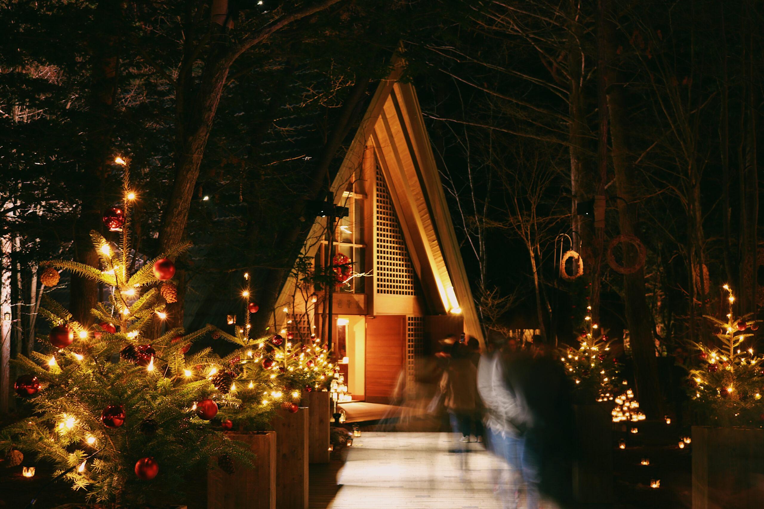 ▷軽井沢高原教会