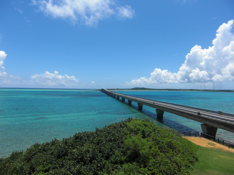 沖縄で夏を感じて