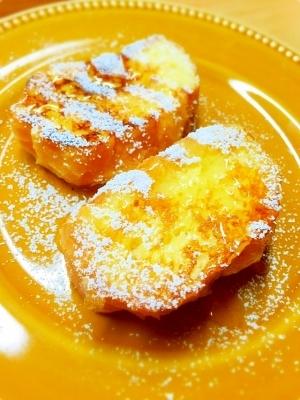 フランスパンで作る♪フレンチトースト*^^*