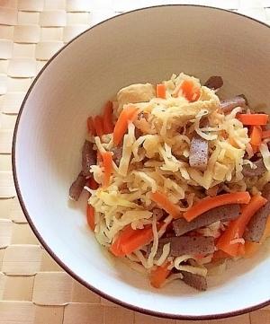 作り置きおかず✿切干大根と高野豆腐の煮物