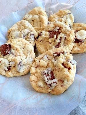 チューイー♪クセになる卵なしチョコチャンククッキー