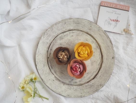 TULIP ROSE:繊細でアートなお花のお菓子