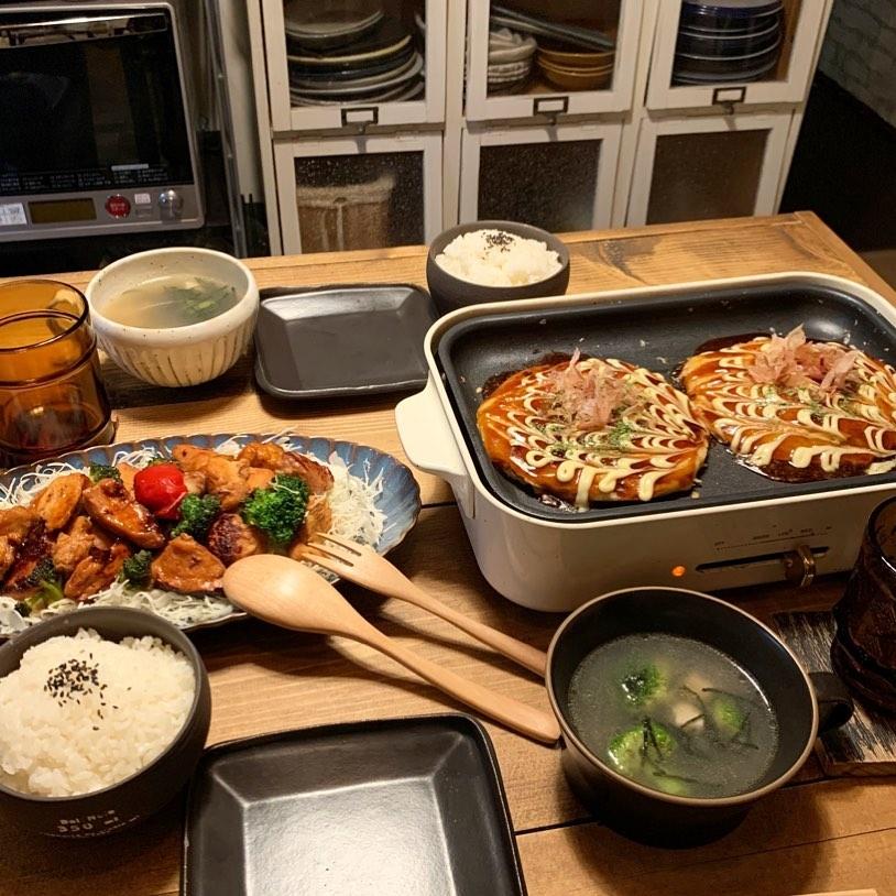 大阪VS広島:お好み焼きパーティー