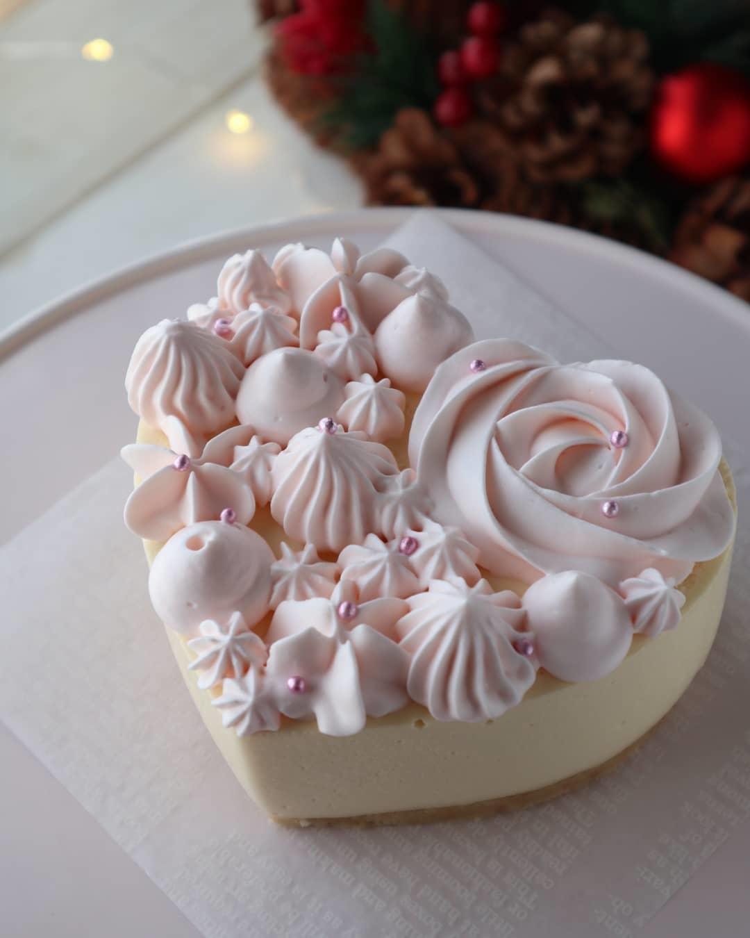 ホワイトチョコのムース
