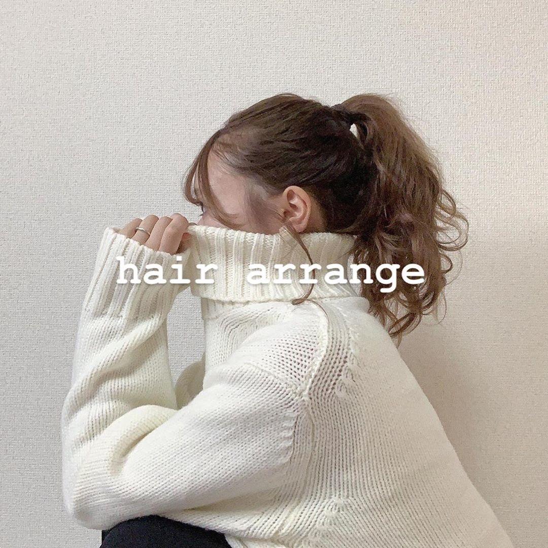 まとめ髪アレンジがお似合い