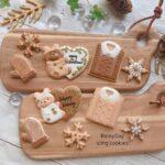 クリスマスに、可愛い手作りお菓子はいかが?聖なる夜は、サンタさんの次に人気者に