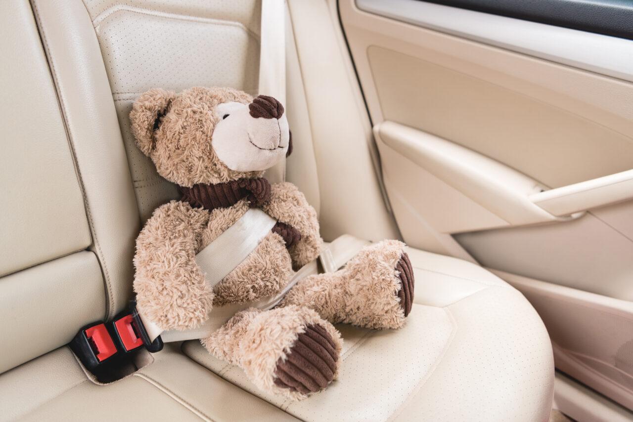 相棒のぬいぐるみを乗せてドライブ。車の内装をナチュラルかわいくする方法って?