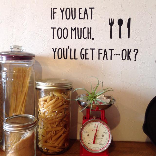 ダイエットワードは見える位置に。ステッカー&シールで「痩せたい」モチベをUP