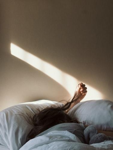 うねりを抑えるために、寝方をcheck!