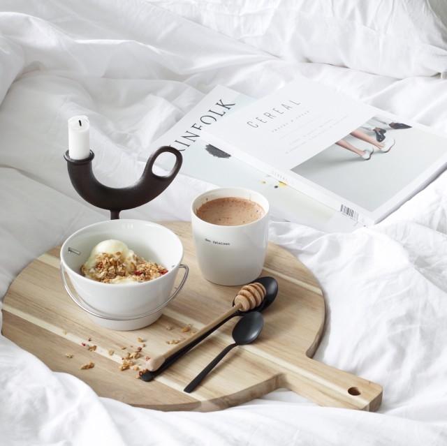 モニグラと腸内環境を整える朝ごはん